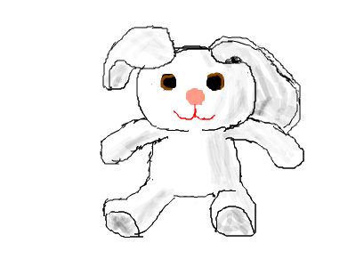 Mouse Drawing practtise 1: Bunnydew
